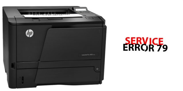HP LaserJet Printer Error code 79