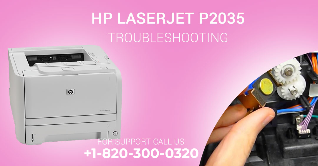 hp laserjet p2035 troubleshooting
