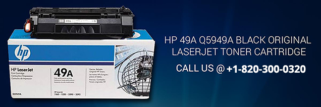 HP 49A Q5949A Black Original LaserJet Toner Cartridge