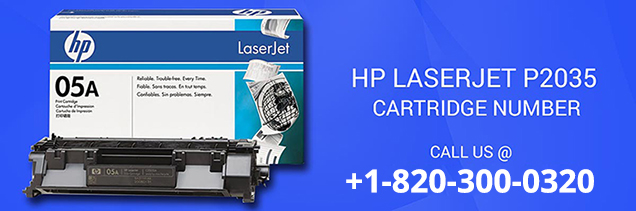 HP Laserjet p2035 Cartridge Number
