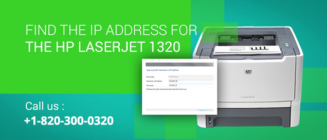 HP LaserJet 1320 IP Address