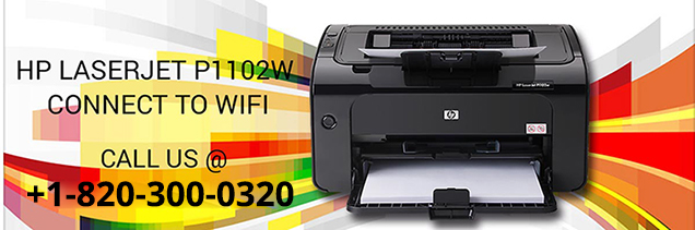 HP Laserjet p1102w connect to wifi