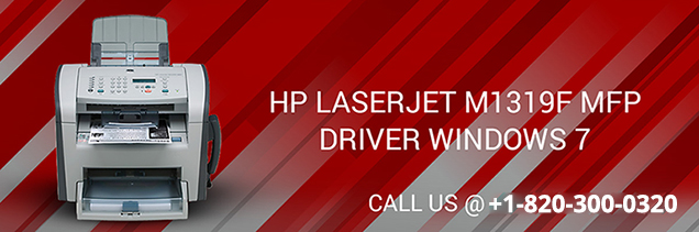 Download HP LaserJet m1319f MFP driver windows 7