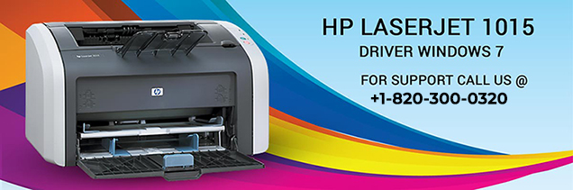 HP LaserJet 1015 driver windows 7